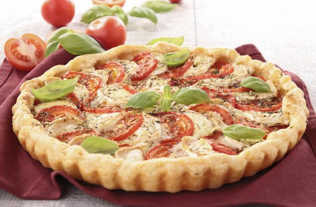 Tarte tomates mozzarella maison - Photo par chouchoo83