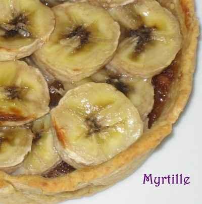 "Tartelettes Bananes sur ""lit"" de Speculoos - Photo par tdorot"