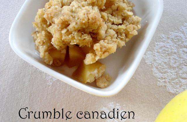 Crumble canadien - Photo par 29999