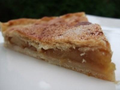Tourte aux pommes confites - Photo par loicvad