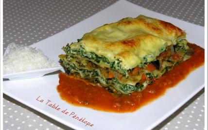 Lasagnes végétariennes - Photo par latabledepenelope