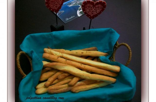 Les grissini, spécialité piemontaise - Photo par L'Italie dans ma cuisine