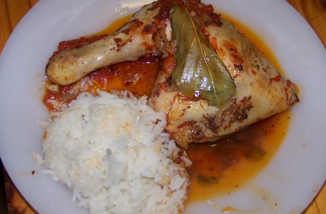 Cuisse de poulet en papilotte - Photo par alison6