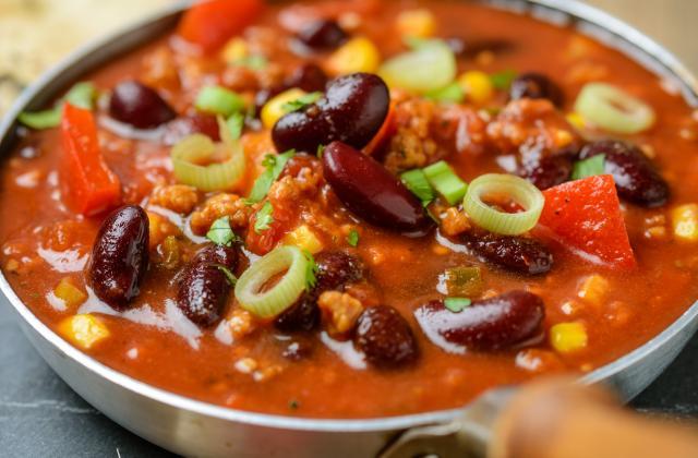 Chili végétarien - Photo par 750g