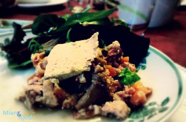 Terrine de lapin à la bière et au foie gras - Photo par Eline la Mandarine