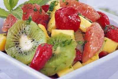 Salade de fruits printanière - Photo par nadinejW