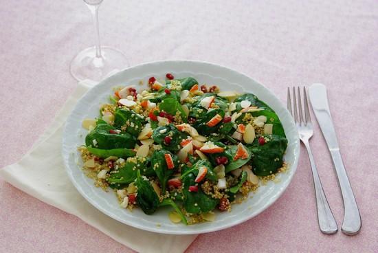 Salade bâtonnets Saveur Coraya et quinoa - Photo par Coraya