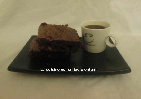 Brownies aux noisettes et margarine - Photo par Cookies.10