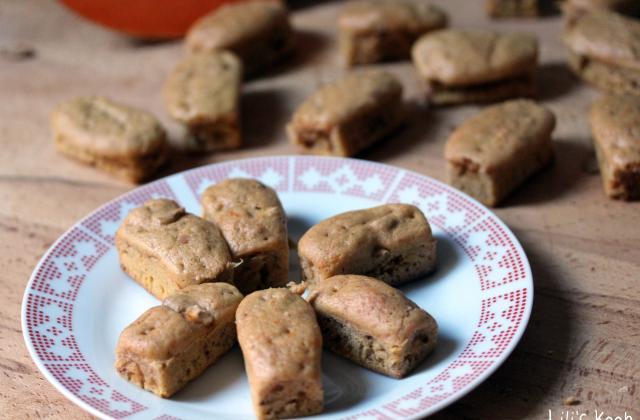 Mini-cakes potiron-noix - Photo par lilis kook