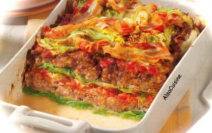 Fausses lasagnes au chou frisé - Photo par PSCHMITT