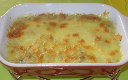 Gratin de poireaux à la mozzarella - Photo par paulinc7