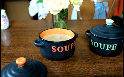 Crème de lentilles vertes du Puy - Photo par 750g