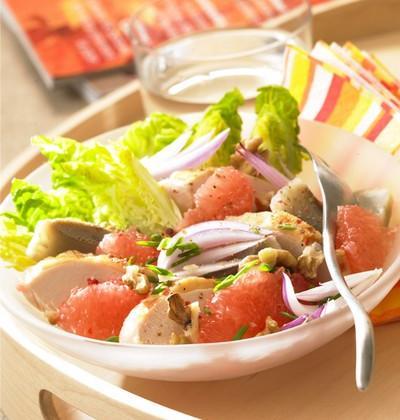 Salade de poulet au pamplemousses de Floride - Photo par 750g