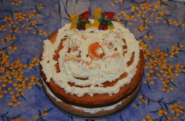 Gâteau à la crème chantilly - Photo par lauraderudd