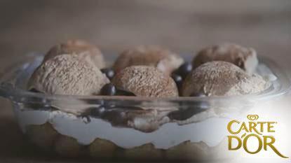 Tiramisu glacé Carte d'or® - Photo par Carte D'Or