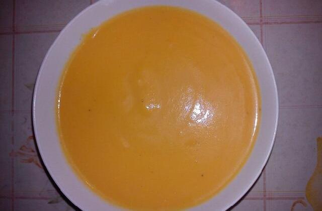 Soupe au potiron crémeuse - Photo par Falbala