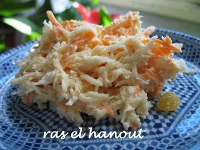 Coleslaw allégé au yaourt nature - Photo par Casa-Breizh