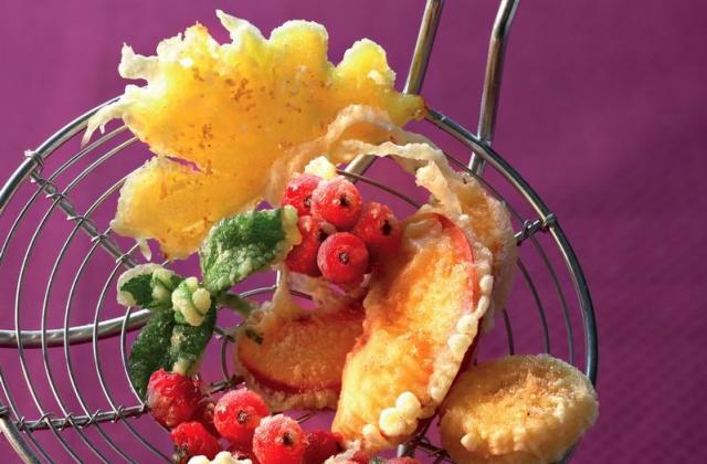 Tempura de fruits frais - Photo par Cedus Le sucre
