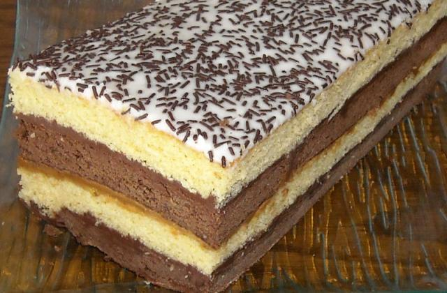Gâteau napolitain aux spéculoos - Photo par jlauree