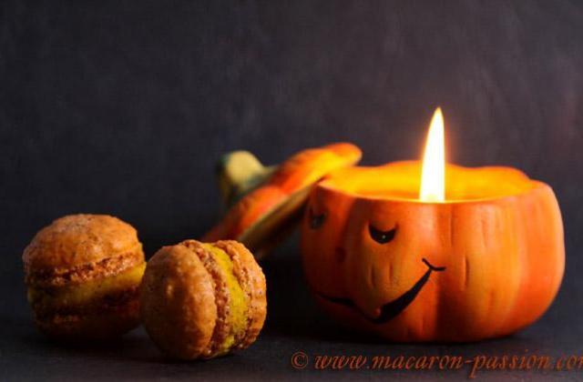 Macarons potimarron noisette - Photo par macaron-passion