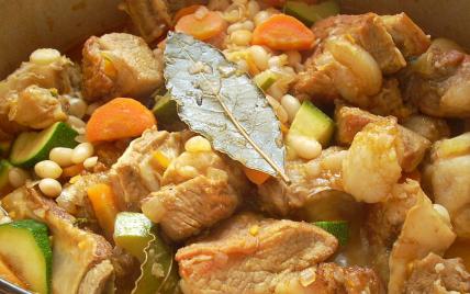 Tendrons de veau braisés à l'orange - Photo par La soupe à la citrouille