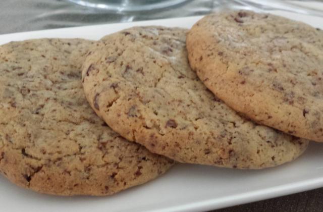 Cookies vanille aux pépites de chocolat - Photo par lysdes