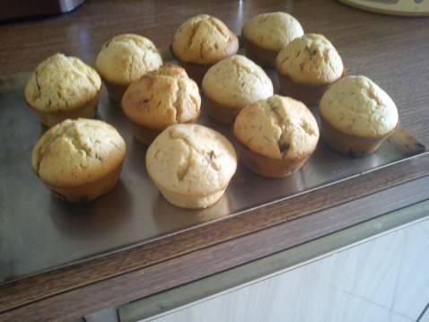 Muffins au chocolat noir - Photo par samuelm8