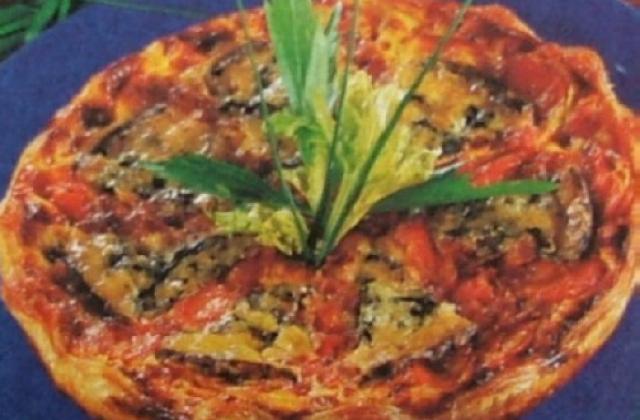 Tarte aux carottes et au roquefort - Photo par capali