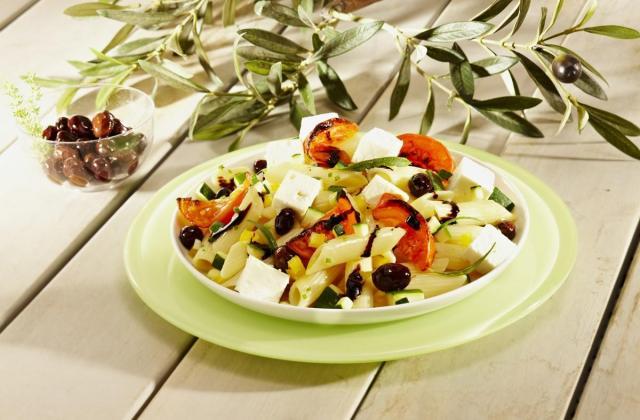 Salade de pâtes ensoleillées - Photo par Salakis