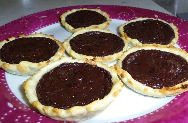 Tartelettes Feuilletées au chocolat - Photo par blandinde