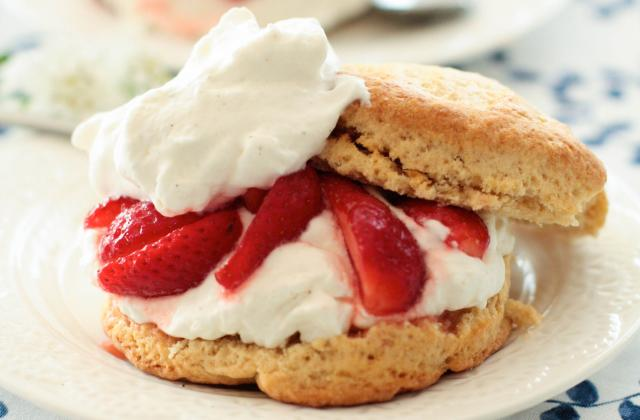 Shortcakes aux fraises Label Rouge - Photo par Flobonneschoses