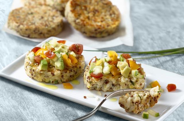 Petites galettes quinoa et riz - Photo par Tipiak