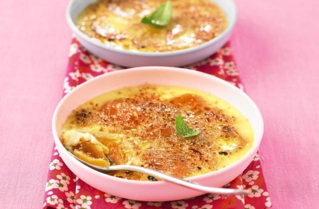 Crème brûlée aux fruits - Photo par Soy
