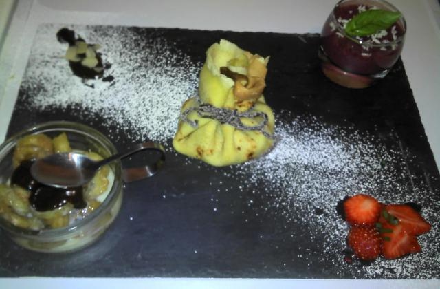 Trilogie de dessert ! (smoothies, verrines) - Photo par massonA6