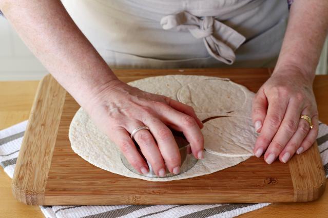 Diaporama comment faire des mini quiches dans des - Comment faire des tortillas ...