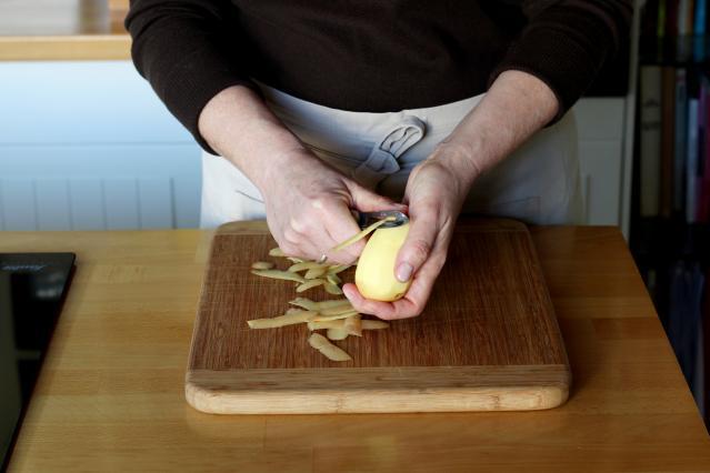 Comment faire une tortilla aux pommes de terre 9 photos - Comment faire des tortillas ...