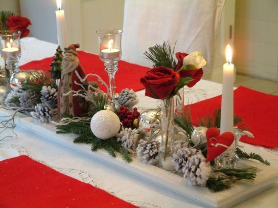 Diaporama 10 Idees Pour Decorer Votre Table De Noel Centre De