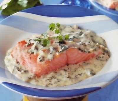 recette - saumon à l'oseille | notée 4/5