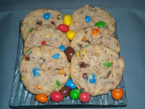 recette cookies moelleux au m ms 750g. Black Bedroom Furniture Sets. Home Design Ideas