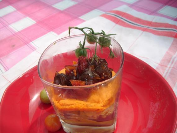 Recette duo de tomate et foie gras 750g - Quantite foie gras par personne ...