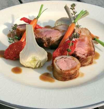 Recette agneau de pauillac l gumes de saison jus court - Cuisiner une selle d agneau ...