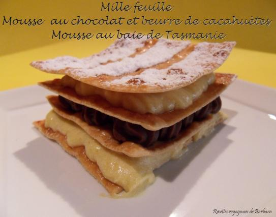 recette mille feuille de mousse au chocolat aux baies de tasmanie 750g. Black Bedroom Furniture Sets. Home Design Ideas