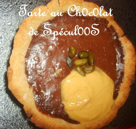 recette tarte au chocolat de sp culoos 750g. Black Bedroom Furniture Sets. Home Design Ideas