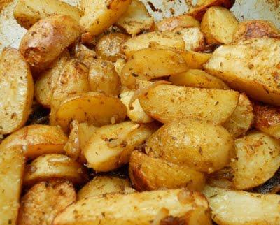 recette pommes de terre primeur aux pices cajun not e. Black Bedroom Furniture Sets. Home Design Ideas