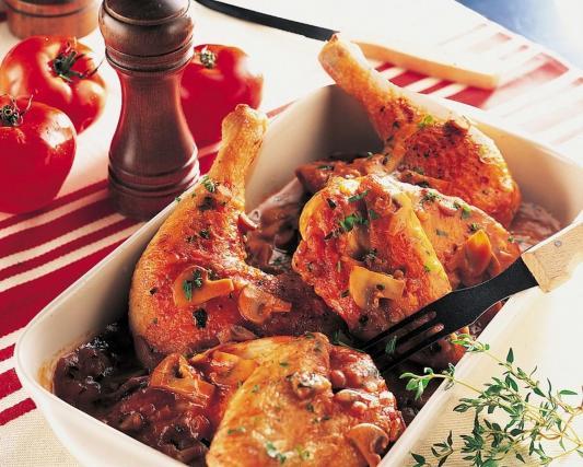 Recette poulet marengo facile 750g - Poulet marengo recette ...