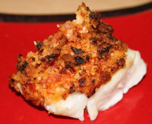 Recette dos de cabillaud en crumble croustillant de chorizo 750g - Comment cuisiner du cabillaud ...