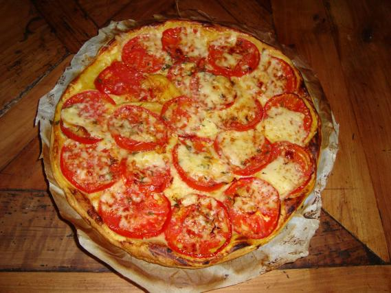 recette tarte tomates fromage vite fait bien fait 750g