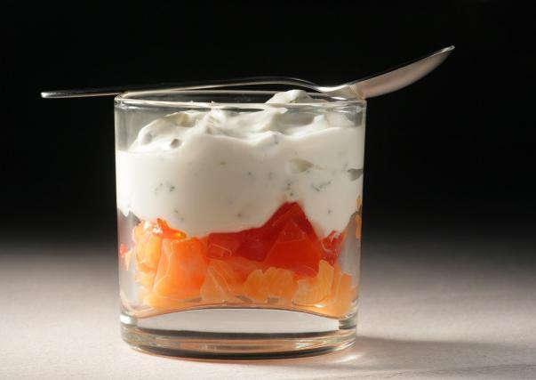 recette verrine saumon st moret
