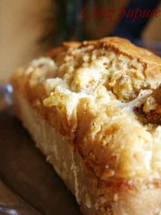 Cake au jambon de parme