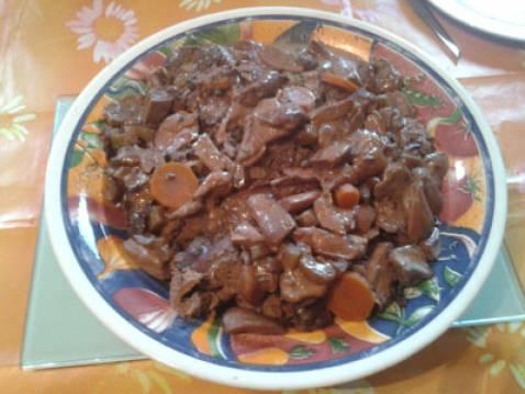 Recette cuissot de chevreuil aux c pes 750g - Cuisiner un cuissot de chevreuil ...